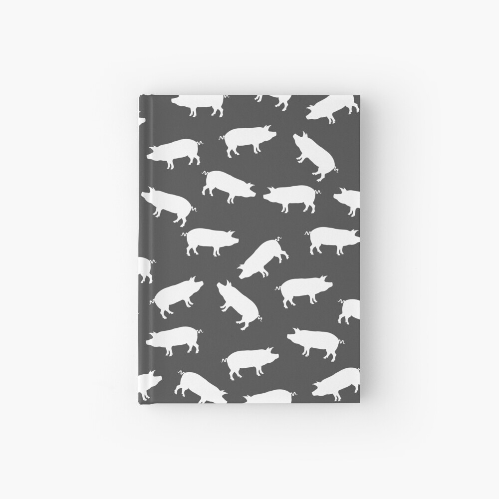 Whole Hog Pattern Hardcover Journal