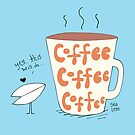 Stickers-Coffee, Coffee, Coffee by SeaLegsStore