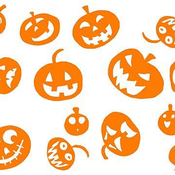 Pumpkins by belugatoons