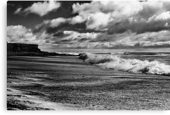 Cullenstown beach, County Wexford, Ireland by Andrew Jones