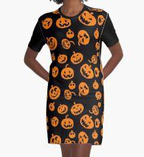 Pumpkins Graphic T-Shirt Dress