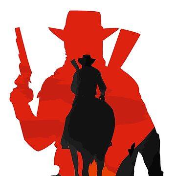 Red dead redemption 2 RDR2 GEEK PS4 gamer HD John Marston western  by MindRich1