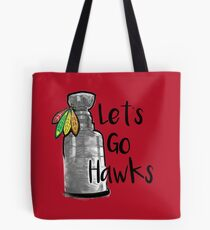 Let's Go Hawks Tote Bag
