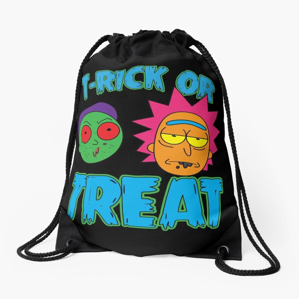 T-Rick Or TREAT Drawstring Bag