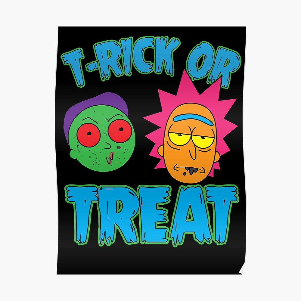 T-Rick Or TREAT Poster