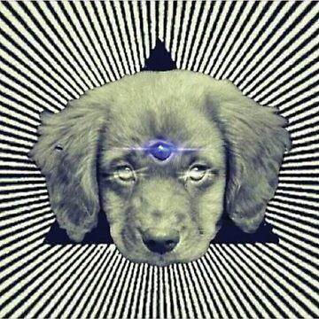 Third Eye Dog by GuyBlank
