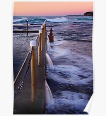 Mona Vale Ocean Baths Poster