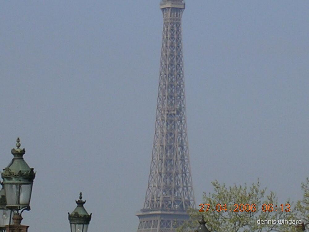 eiffel tower by dennis wingard