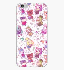Animal Crossing Pattern iPhone Case