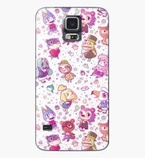 Animal Crossing Pattern Case/Skin for Samsung Galaxy