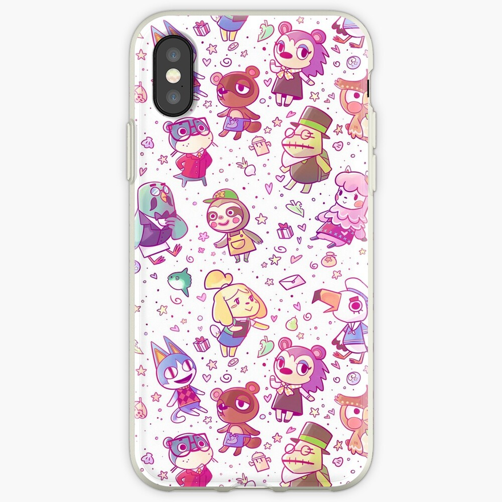 Animal Crossing Pattern iPhone Case & Cover
