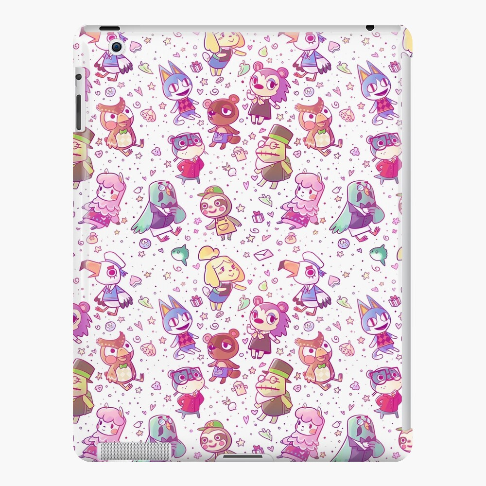 Animal Crossing Pattern iPad Case & Skin