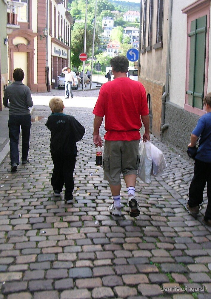 walking in germany by dennis wingard