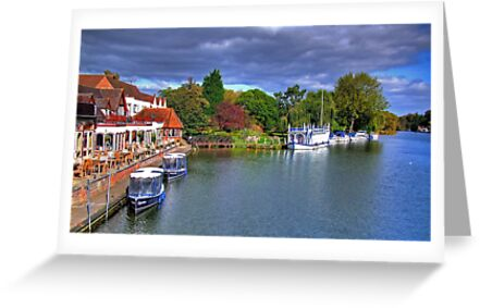 The Swan at Streatley - HDR by Colin  Williams Photography