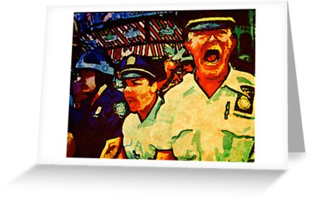 Really Pissed Off Cops by David Rozansky