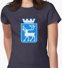 Tromsø Coat of Arms, Norway Women's Fitted T-Shirt