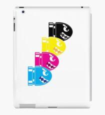 CMYK Bullet iPad Case/Skin
