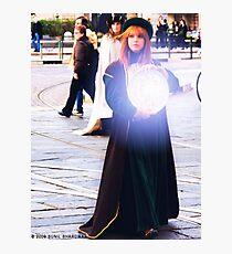 Magician  Photographic Print