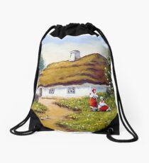 Rural landscape Drawstring Bag