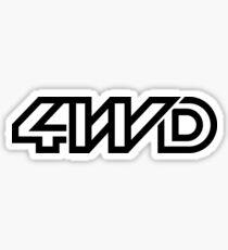 4WD-Syncro Sticker