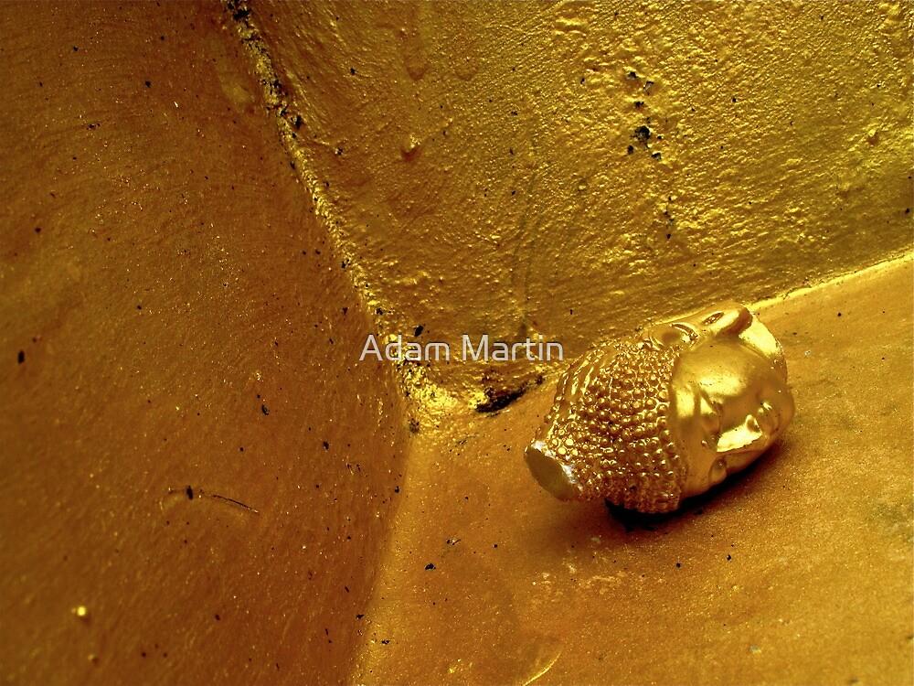 Decapitated Buddha by Adam Martin