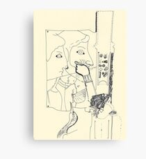 Fragments d'arts #02 Canvas Print