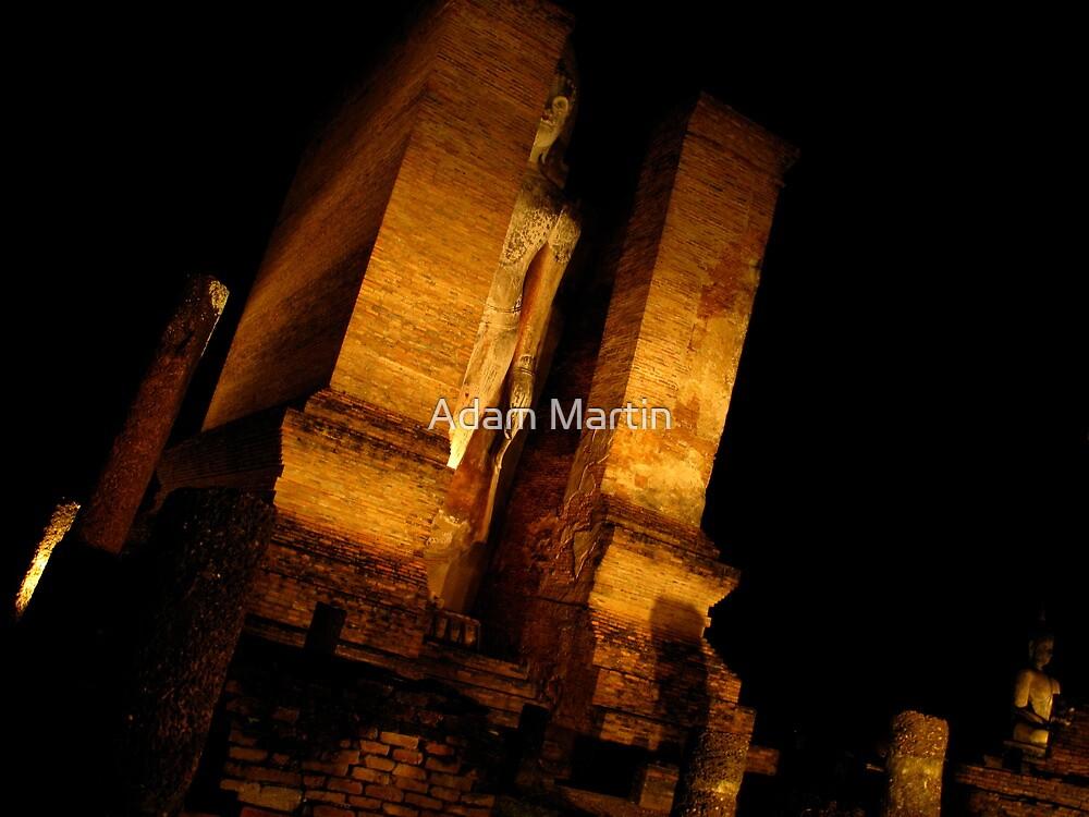Standing Buddha by Adam Martin