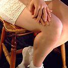 White Virgin Socks  by Babyzephyr