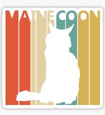 Maine Coon Cat Sticker