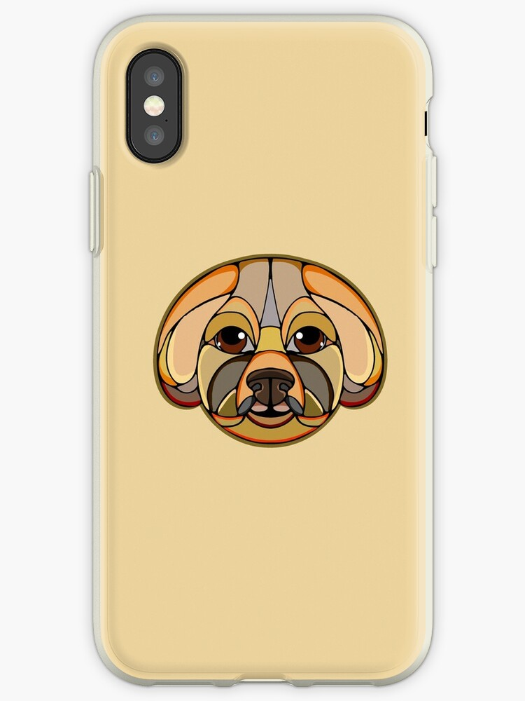 Brichon Frise - Dog by LRichardsdesign