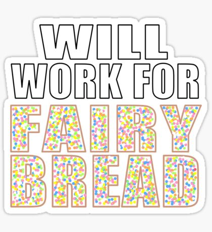 Fairy Bread Sticker