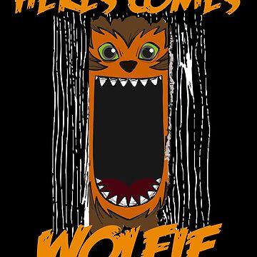WOLFIE HALLOWEEN by tshirtsclick
