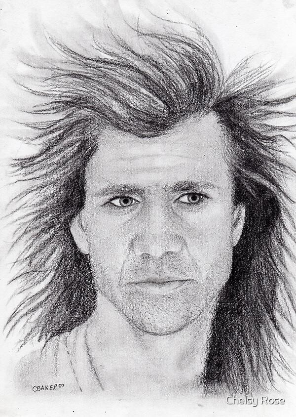 Mel Gibson by Chelsy Rose