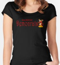 Demonrats Women's Fitted Scoop T-Shirt
