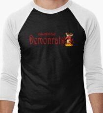 Demonrats Men's Baseball ¾ T-Shirt