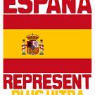 España represent by kaysha