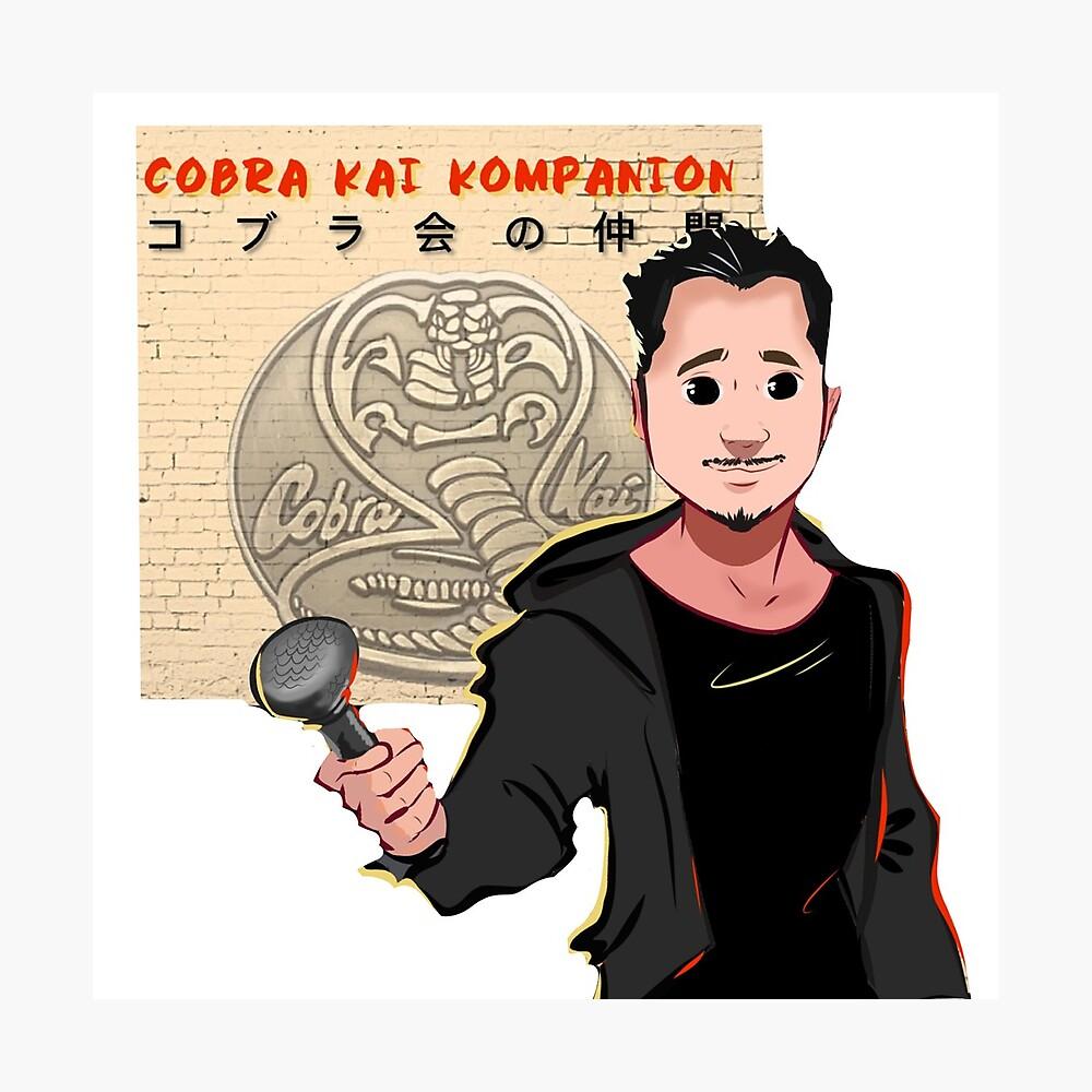 Kobra Kai Kompanion Fotodruck