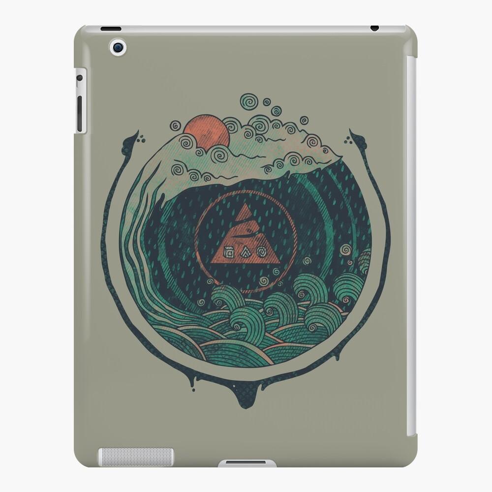 Wasser iPad-Hülle & Skin
