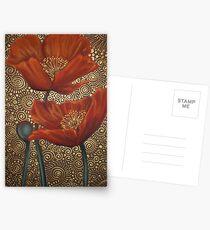 Roux Coquelicots Postcards
