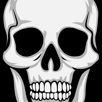 Memento Mori Skull de wadekording