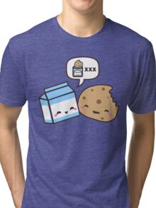 Milk and Cookies Tri-blend T-Shirt