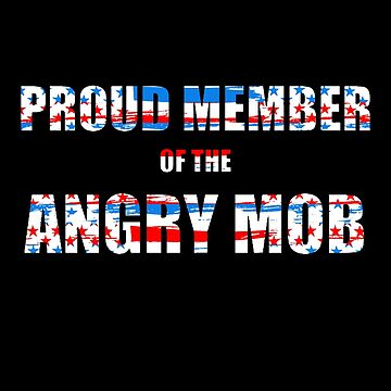 Angry Mob Flag by highparkoutlet