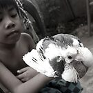A Boy And His Bird by Carlo Cesar Rodillas