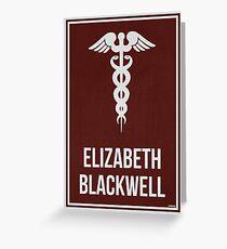 ELIZABETH BLACKWELL - Women in Science Greeting Card
