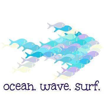 Ocean Wave Surf by Discofunkster