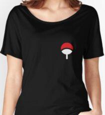 UCHIHA CLAN LITTLE LOGO Women's Relaxed Fit T-Shirt