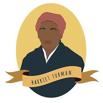 Harriet Tubman Round Portrait by thefilmartist