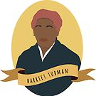Harriet Tubman Round Portrait by thefilmartist