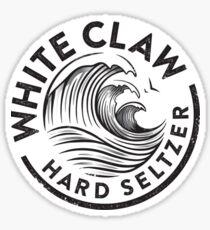 Weiße Klaue Sticker
