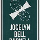JOCELYN BELL BURNELL - Women in Science by Hydrogene